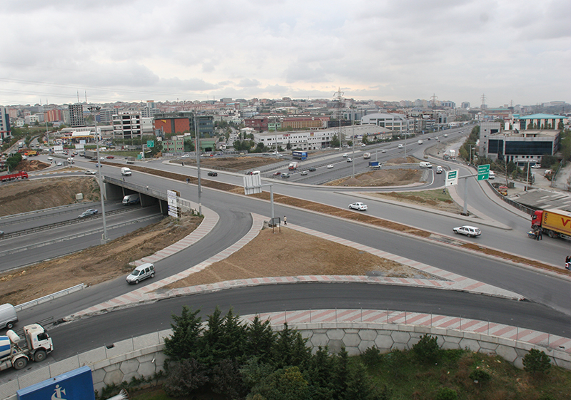 BAĞCILAR-GÜNEŞLİ HIGHWAY JUNCTION