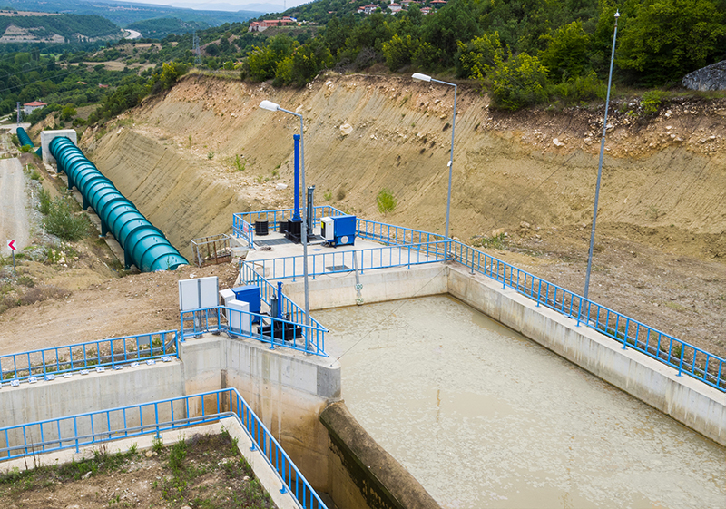 DEMİRCİ REGULATOR AND HYDROELECTRIC POWER PLANT